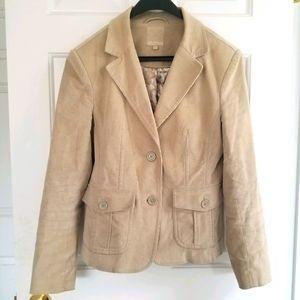 *4/$30* Lady Hathaway Tan Corduroy Jacket
